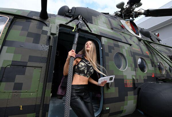 Nowy model śmigłowca Mi-8. - Sputnik Polska