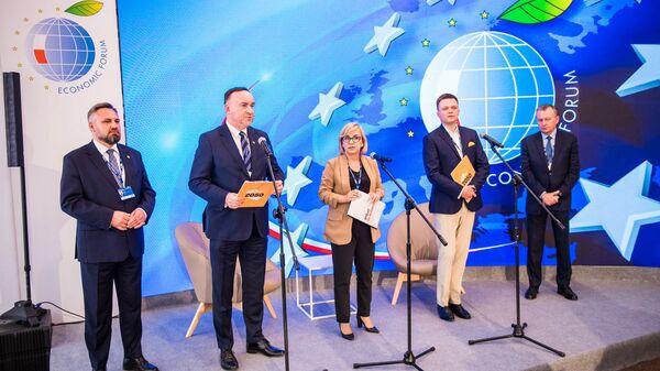 ХХХ международный Экономический форум в Карпаче - Sputnik Polska