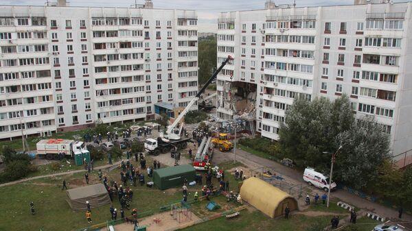 Взрыв газа в жилом доме в Ногинске - Sputnik Polska