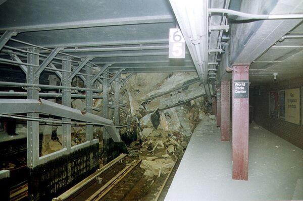 Zniszczony tunel metra w Nowym Jorku - Sputnik Polska