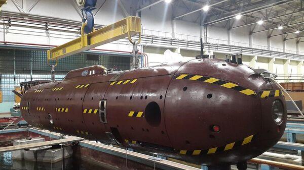 Niezamieszkany okręt podwodny Klawesyn-2P-PM - Sputnik Polska