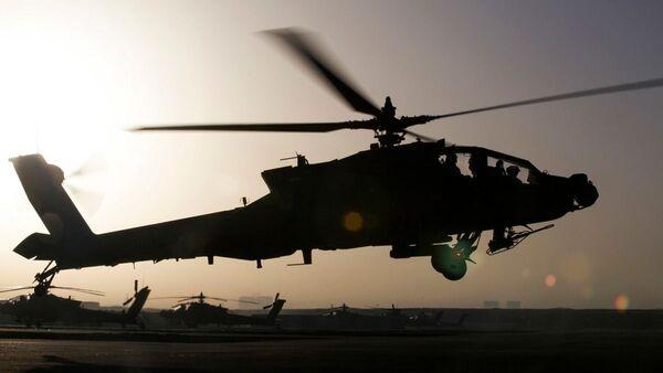 Вертолет ВВС США в Эрбиле, Ирак - Sputnik Polska