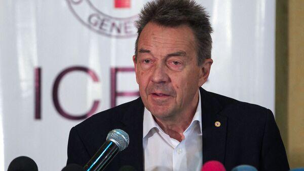 Peter Maurer, Przewodniczący Międzynarodowego Komitetu Czerwonego Krzyża - Sputnik Polska