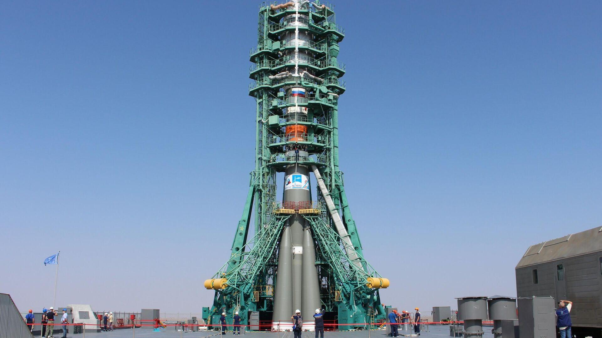 Rosyjska rakieta Sojuz-2.1b - Sputnik Polska, 1920, 14.09.2021