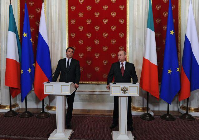 Spotkanie prezydenta FR z premierem Włoch