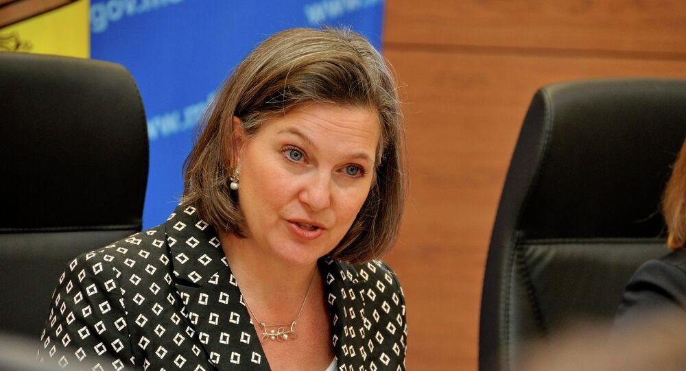 Podsekretarz Stanu USA Victoria Nuland