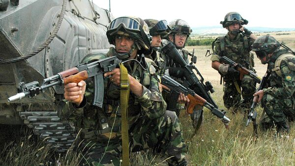 Ćwiczenia wojsk NATO - Sputnik Polska