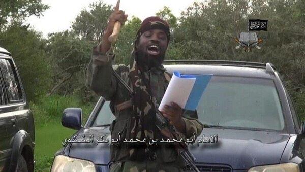 Abubakar Shekau, lider nigeryjskiego ruchu Boko Haram - Sputnik Polska