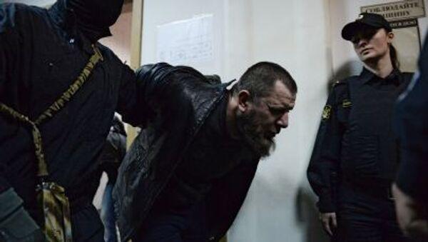 Podejrzany o zamordowanie Borysa Niemcowa w moskiewskim sądzie - Sputnik Polska