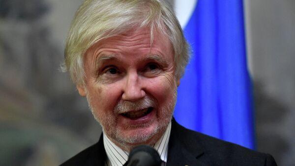 Minister spraw zagranicznych Finlandii Erkki Tuomioja - Sputnik Polska