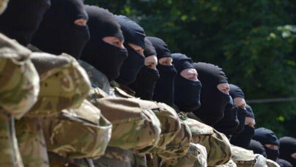 Żołnierze z batalionu Azow - Sputnik Polska