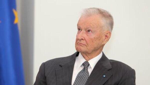 Amerykański politolog Zbigniew Brzeziński - Sputnik Polska