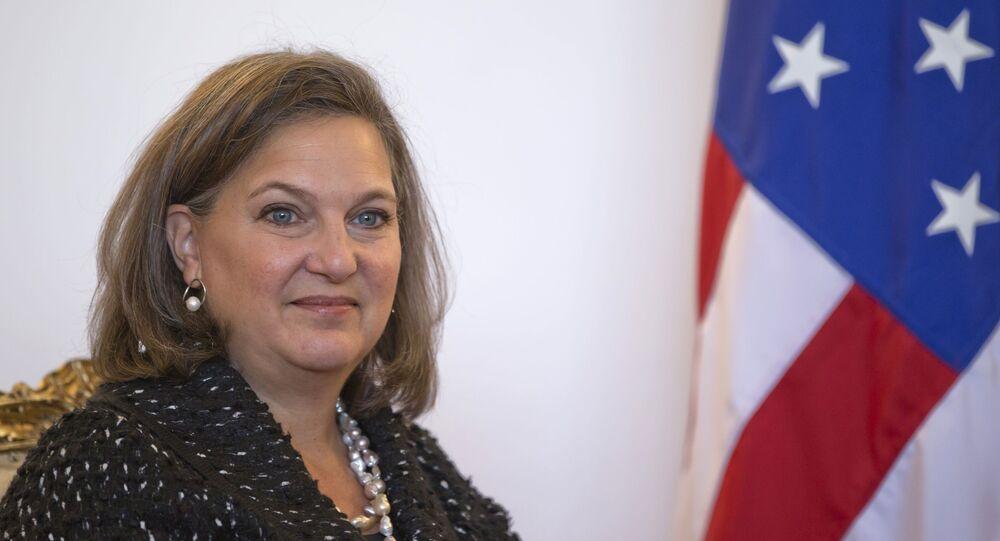 Asystent sekretarza stanu w amerykańskim Departamencie Stanu, szefowa Biura ds. Europy i Eurazji Victoria Nuland