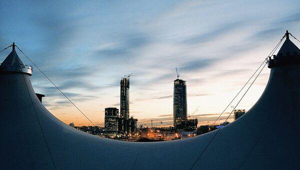Moskiewskie Międzynarodowe Centrum Biznesowe Moscow City - Sputnik Polska