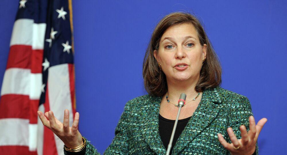 Podsekretarz stanu USA ds. Europy i Eurazji Victoria Nuland