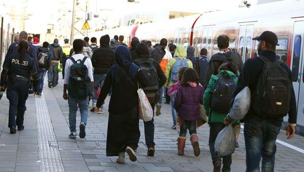 Uchodźcy w Niemczech - Sputnik Polska