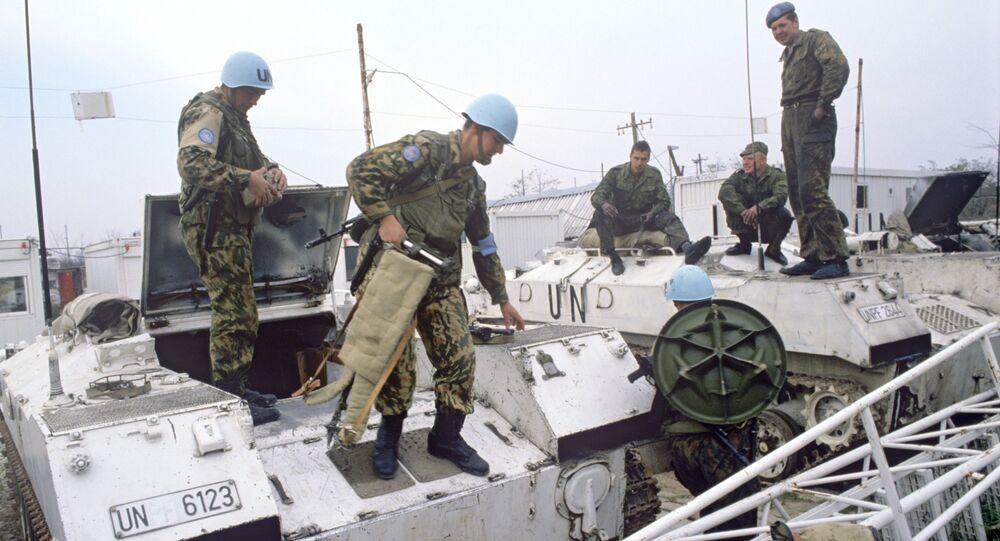 Rosyjskie siły pokojowe w Slawonii