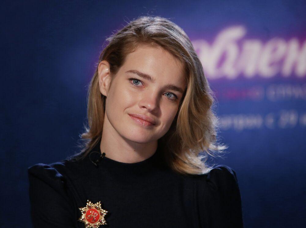 Modelka Natalia Wodianova