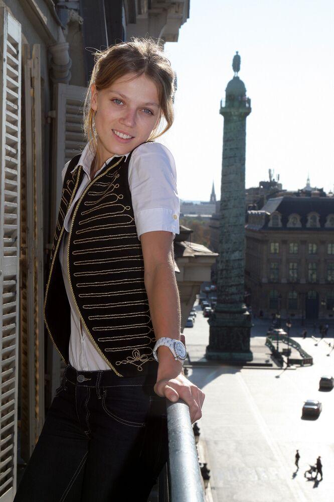 Rosyjska modelka Masha Nowosiołowa