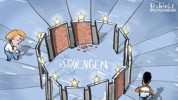 Czy Szengen jest wszeńdzie ten sam? - Sputnik Polska