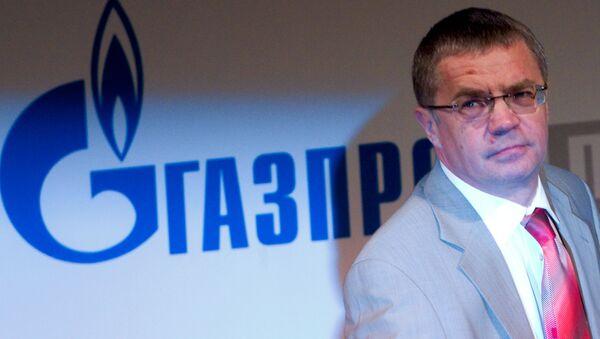 Dyrektor generalny Gazprom eksport Aleksander Miedwiediew - Sputnik Polska