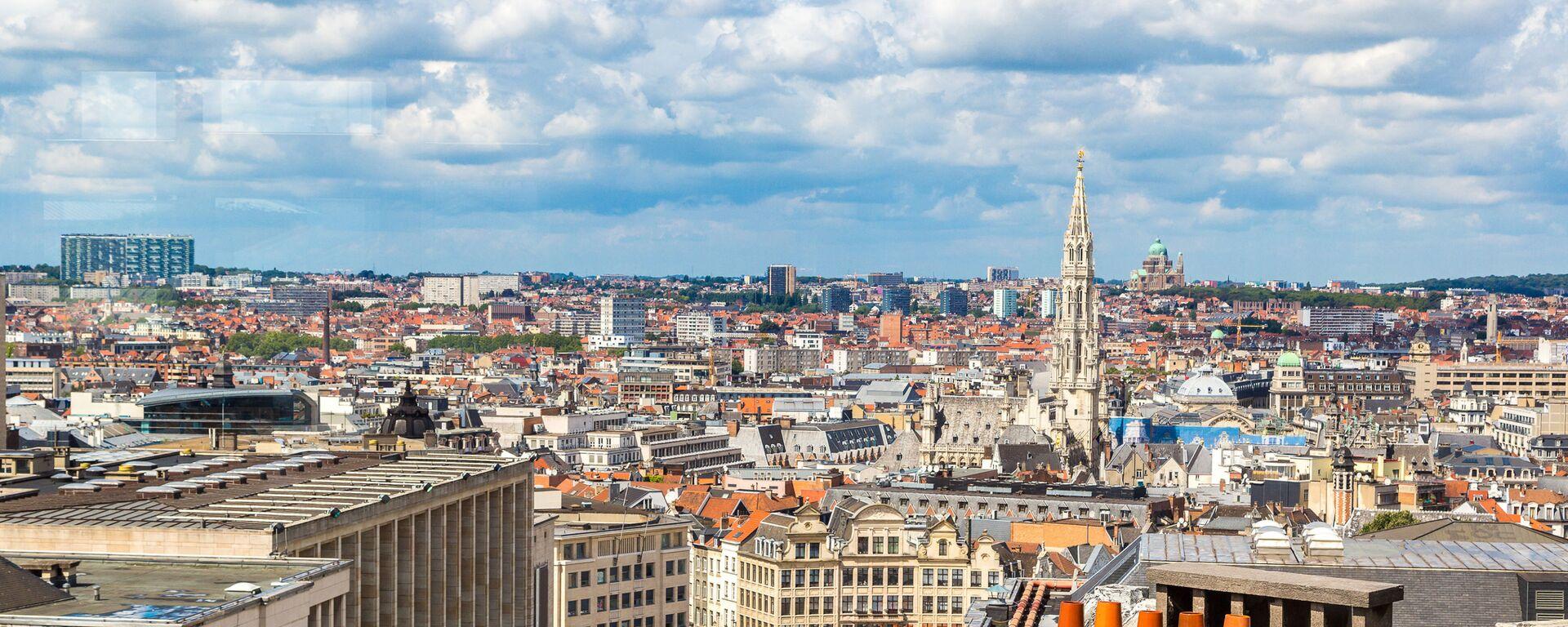 Widok na Brukselę, Belgia - Sputnik Polska, 1920, 26.07.2021