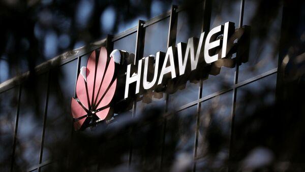 Logo Huawei w Ottawie, Kanada - Sputnik Polska