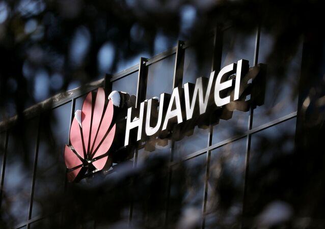 Logo Huawei w Ottawie, Kanada