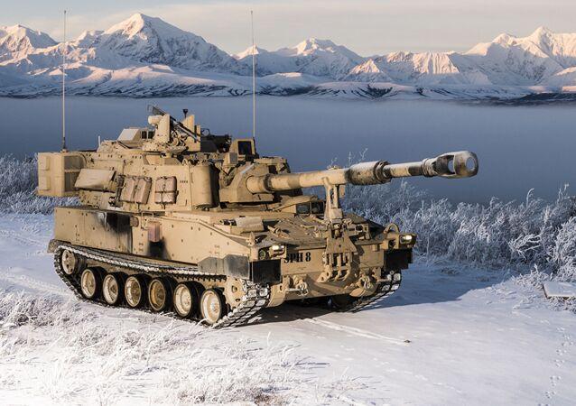 Samobieżna haubica M109A7, opracowana przez koncern BAE Systems