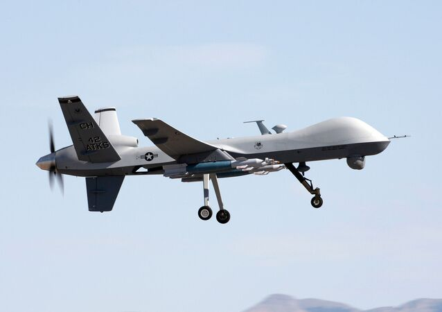 Amerykański dron rozpoznawczy MQ-9 Reaper