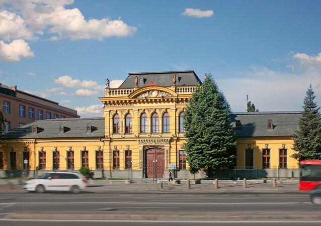 Siedziba ministerstwa spraw zagranicznych Słowacji.