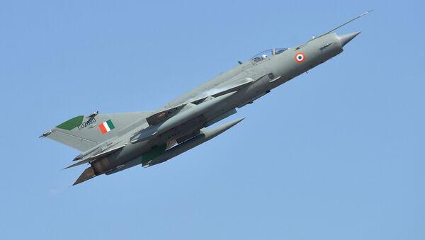 Indyjski myśliwiec produkcji radzieckiej MiG-21 - Sputnik Polska