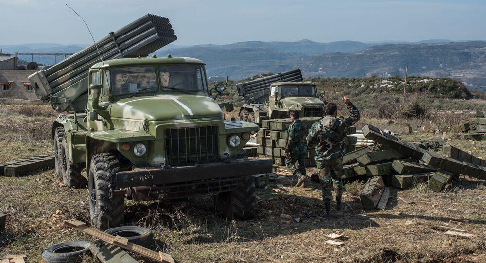 Syryjska armia w prowincji Idlib