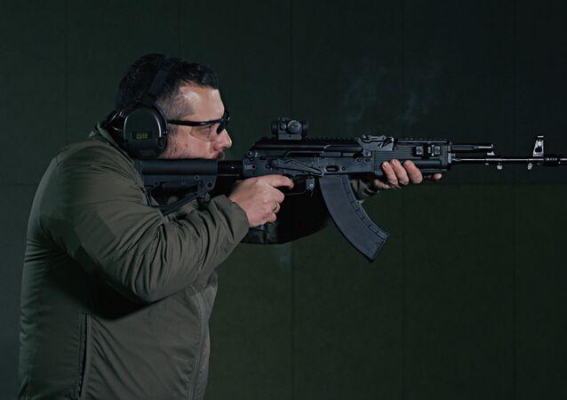 Karabin Kałasznikowa AK- 203