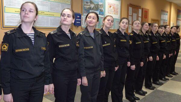 Dziewczyny w marynarce wojennej - Sputnik Polska
