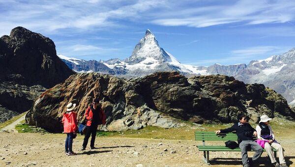 Matterhorn – szczyt w Alpach Pennińskich - Sputnik Polska