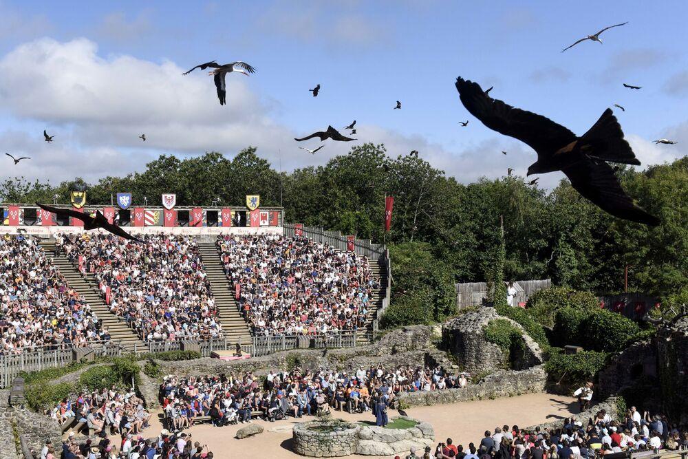 Park rozrywki Puy du Fou we Francji