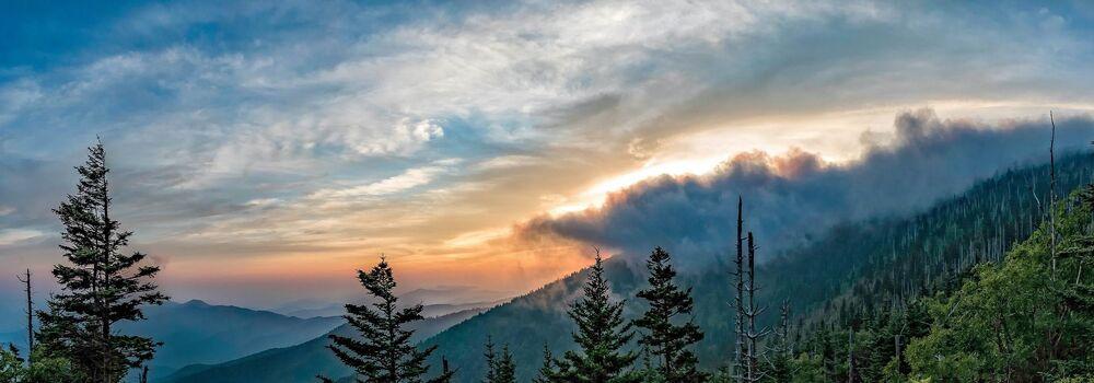 Park Narodowy Great Smoky Mountains w USA