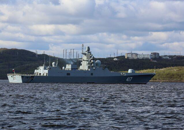 Rosyjska fregata Admirał Gorszkow