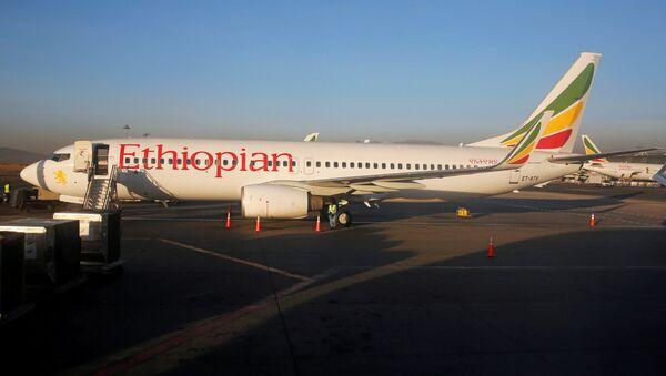 Samolot linii lotniczych Ethiopian Airlines - Sputnik Polska