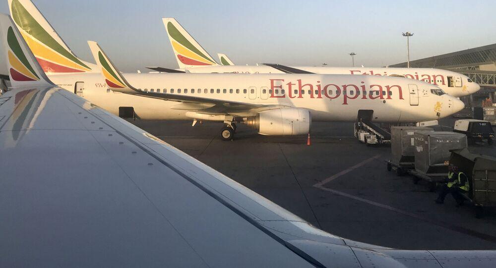 Samoloty linii lotniczej Ethiopian Airlines