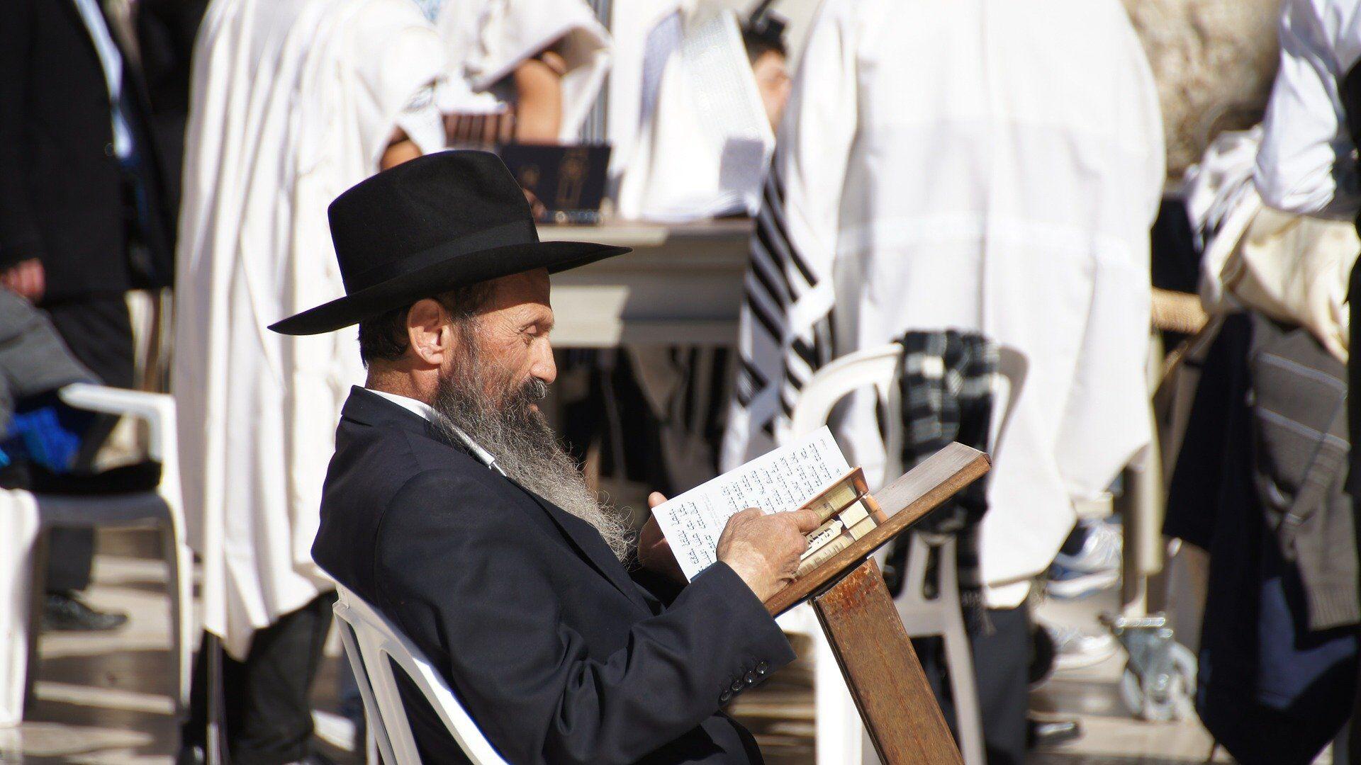 Żyd czytający książkę - Sputnik Polska, 1920, 28.06.2021