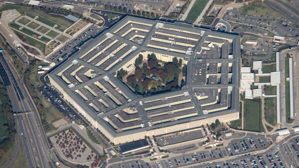 Widok na budynek Pentagonu - Sputnik Polska