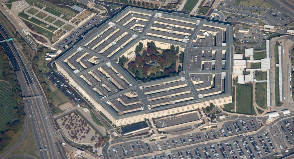 Widok na budynek Pentagonu