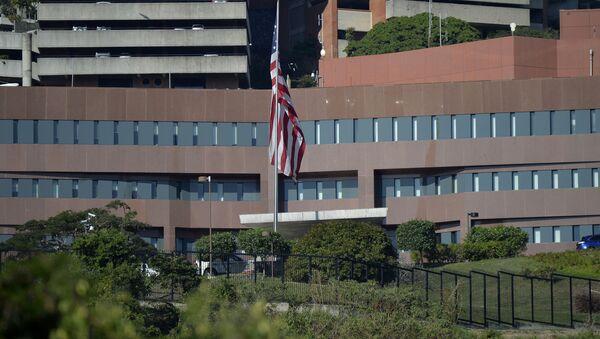 Ambasada USA w Caracas - Sputnik Polska