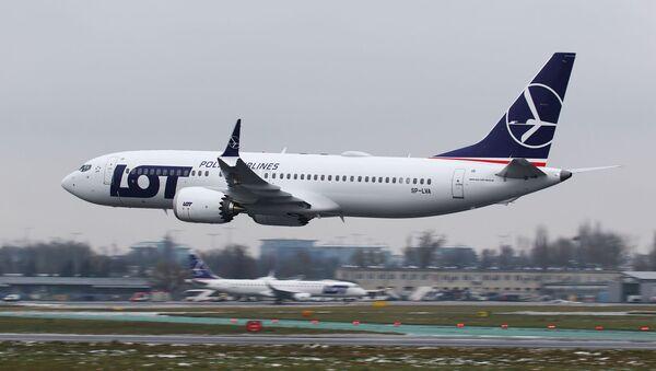 Boeing 737 MAX 8 polskich linii lotniczych LOT - Sputnik Polska