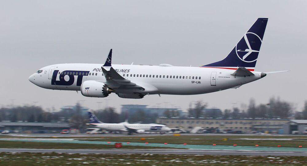 Boeing 737 MAX 8 polskich linii lotniczych LOT