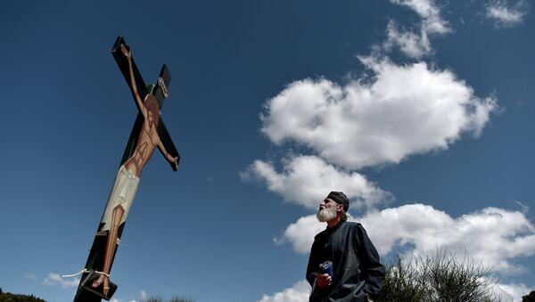 Chrystus na krzyżu - Sputnik Polska