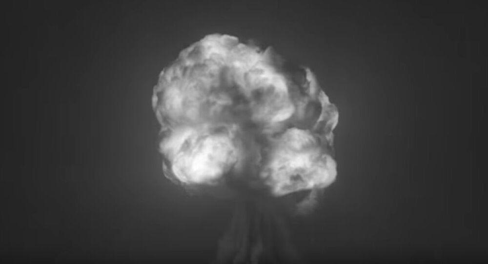 """Odrestaurowane wideo z pierwszego na świecie testu broni jądrowej """"Trinity"""""""