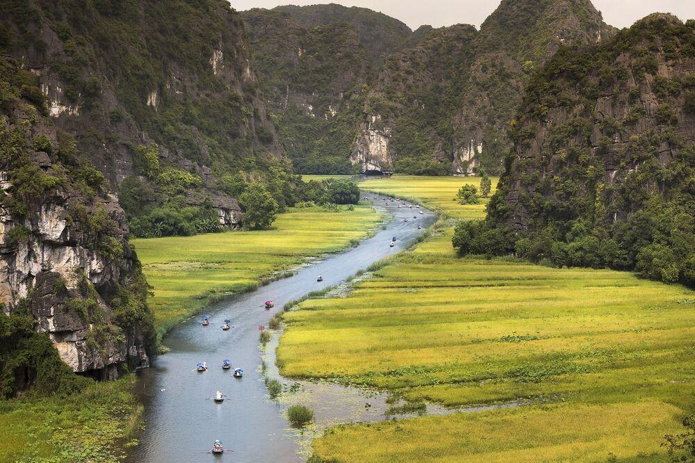 Rzeka Ngo Dong w Wietnamie